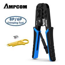 <b>AMPCOM</b> rj45 crimper RJ11 RJ45 Crimping Tool Ethernet Network ...