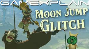 Moon Jump in Zelda: <b>Breath</b> of the Wild! <b>Infinite</b> Jump Glitch (Quick ...