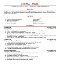 s supervisor resume office manager admin modern cover letter gallery of s supervisor resume