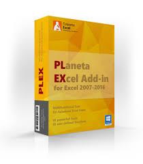 Надстройка PLEX для Microsoft Excel