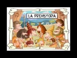 Resultado de imagen de prehistoria para niños
