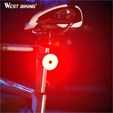 <b>WEST BIKING 5 Modes</b> Bicycle Tail Light USB Fast Charging ...