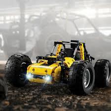 CaDA <b>C51043W All</b>-<b>terrain</b> Building Block <b>Vehicle</b> Buggy 2.4G ...