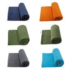 Dual sides Fleece <b>Sleeping Bag Portable Outdoor</b> Sleeping Bag ...