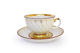 Купить <b>Чашка с блюдцем</b> 350 мл Голубая роза Золотое кольцо