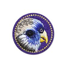 Cute parrot owl rabbit patches for clothing <b>bird embroidered</b> patch ...