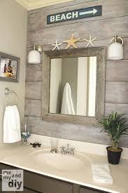 beach theme bathroom love the drift wood behind beach theme furniture 1000