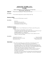examples of resumes good example to make a resume summary 89 appealing good examples of resumes
