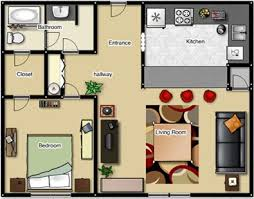 images about Small Space Floor Plans on Pinterest   Floor    Liking the walk in closet bathroom  Its sq ft though