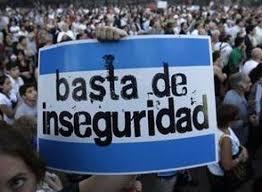 Resultado de imagen para inseguridad en argentina