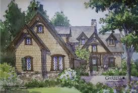 Timber Bridge Cottage House Plan   House Plans by Garrell    Timber Bridge Cottage   Mountain House Plans  Rustic House Plans