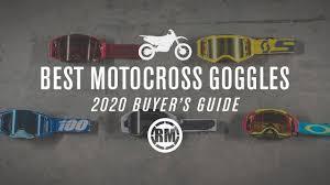 Best <b>Motocross Goggles</b> | 2020 - YouTube