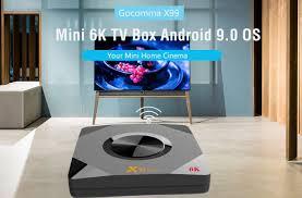 <b>Gocomma</b> X99 Mini 6K <b>TV</b> Box with Allwinner H6 SoC ...