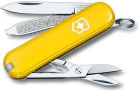 <b>Нож перочинный Victorinox Classic</b> 7 функций 58мм желтый ...