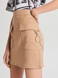 Мини-<b>юбка</b> с эффектной цепочкой, <b>CROPP</b>