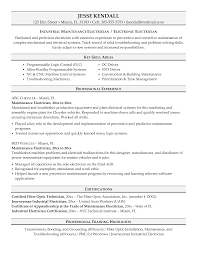 electrical resume template template electrical resume template