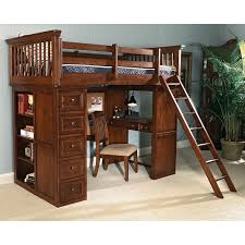 white painted wooden loft bed with writing desk combined natural boys bedroom ideas bunk beds desk drawers bunk