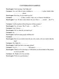 conversation samples
