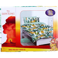 Disney <b>The Lion King</b> Quilt Cover Set - Multi | BIG W