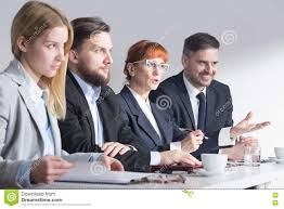 job interview requires commitment from both sides stock photo job interview requires commitment from both sides