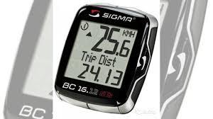 <b>Велокомпьютер Sigma</b> Sport BC 16.12 STS + <b>датчики</b> купить в ...