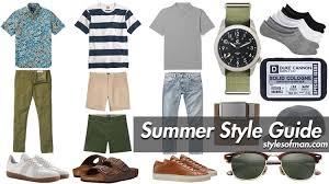 <b>Men's Summer Fashion</b> Essentials: 2020 Style Guide • Styles of Man