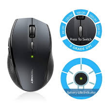 Online Shop TeckNet Bluetooth <b>Wireless Mouse Ergonomic 2.4GHz</b> ...