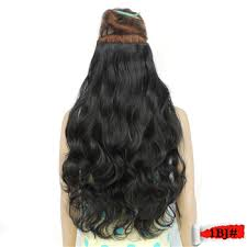 <b>wjj12070</b>/<b>1p Xi Rocks Curly</b> Clip In Hair Extensions Synthetic For ...