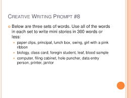 Creative Writing Ideas For Middle School   writing prompts for     Pinterest Creative Writing Prompts with Photos