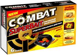 <b>Ловушки</b> от <b>тараканов</b> COMBAT, 6 штук | Купить с доставкой | My ...