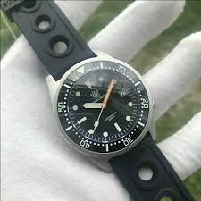 UK <b>STEELDIVE SD1979</b> BLACK 200M Squale 1521 50 Atmos ...