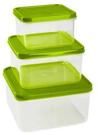 Giaretti <b>Набор контейнеров для продуктов</b> Vitamino квадратные ...