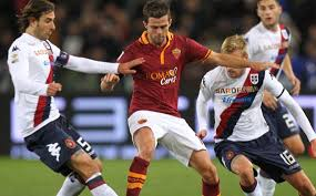 Image result for Cagliari	AS Roma photos