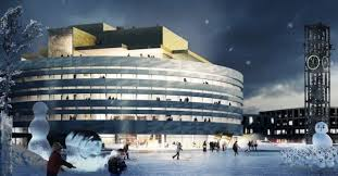 Henning Larsen's Swedish <b>City</b> Hall Modernizes the <b>Arctic</b> Tundra