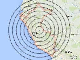 Resultado de imagen de sismo peru