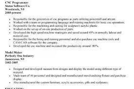 machinist resume objective sample cnc programmer resume cnc programmer resume