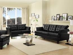 Of Living Rooms With Black Leather Furniture How To Decorate A Living Room With A Black Leather Sofa Green