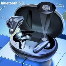 AIR PLUS Wireless Earphones <b>Bluetooth</b> Headphone With Wireless ...