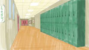 Image result for ANIMATED  HALLWAY