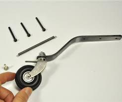 <b>Carbon Fiber Tail Landing</b> Gear With Wheel Set For 60cc Gas RC ...