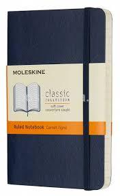 Купить <b>Блокнот Moleskine Classic</b> Soft Pocket синий сапфир ...