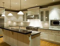 space ideas white kitchen awesome modern kitchen lighting ideas