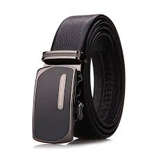<b>Men's Belts</b> Luxury Genuine <b>Leather</b> Cowskin <b>Belt Automatic Buckle</b> ...