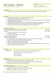 10 Teacher Resume Samples for Elementary School | Easy Resume Samples ... 10 Teacher Resume Samples for Elementary School (1) ...