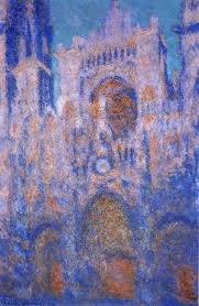 Sunken Cathedral image painted by Monet