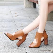 Women <b>Elegant</b> High Heels Sandals <b>Plus Size 42</b> | Shopee Malaysia