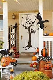 ideas outdoor halloween pinterest decorations: halloween inspiration silly monster and ghost doors and more pumpkins halloween classroom door and jack o