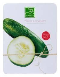 """<b>Тканевая маска с огурцом</b> """"Увлажнение и упругость"""" Fruit Silk, 30 ..."""