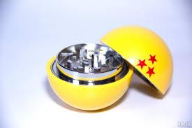 <b>Гриндер</b> металлический Dragon <b>Ball</b> 3 stars желтый с Ситом ...