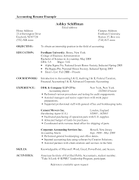 resume example accounting  seangarrette coresume example accounting